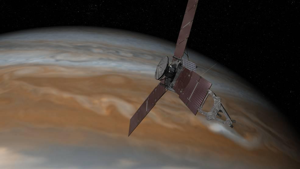 2016.06.10:木星に探査機ジュノー到着まで25日!!