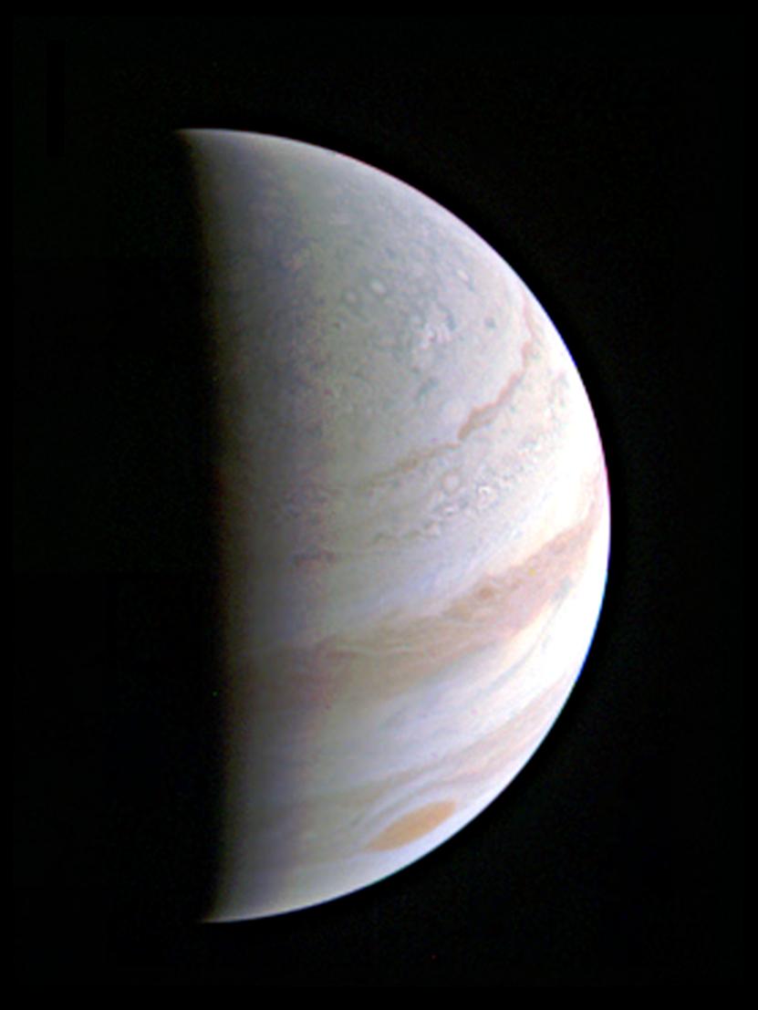 2016.08.28:木星最接近成功!初めて見る木星の近接画像