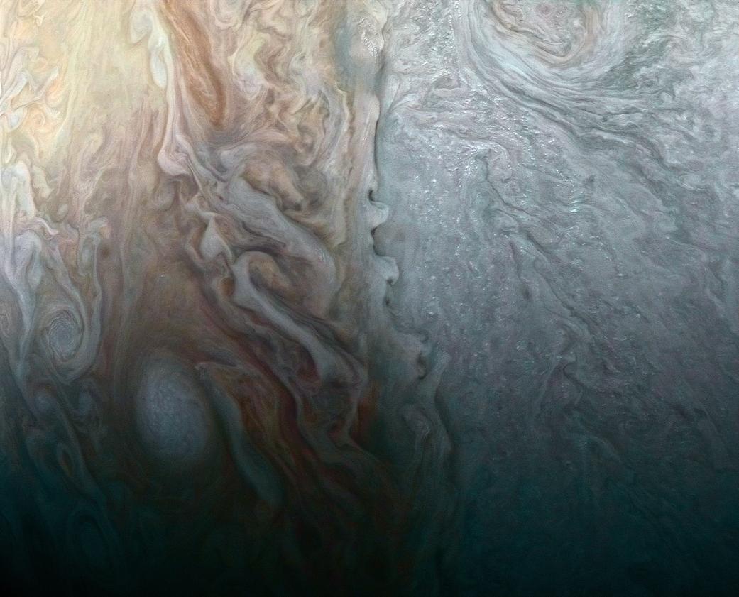 2017.04.07:木星の複雑な気象環境